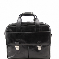 Деловая сумка Tuscany Leather Reggio Emilia Black