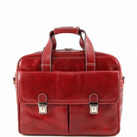 Деловая сумка Tuscany Leather Reggio Emilia Red