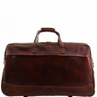 Дорожная сумка Tuscany Leather Bora Bora Brown Большая