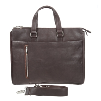 Бизнес сумка Gianni Conti 1041261 dark brown