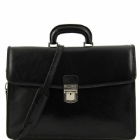 Портфель Tuscany Leather Amalfi Black