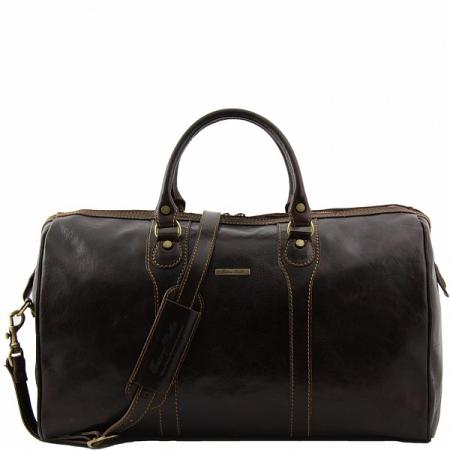 Дорожная сумка Tuscany Leather Oslo Dark Brown