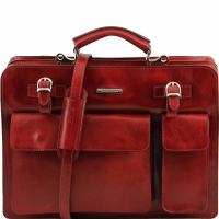 Портфель Tuscany Leather Venezia Red