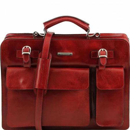 Портфель Tuscany Leather Venezia Red