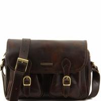 Дорожная сумка Tuscany Leather San Marino Dark Brown
