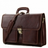Портфель Tuscany Leather Assisi Dark Brown
