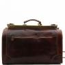 Дорожная сумка саквояж Tuscany Leather Madrid Dark Brown Маленькая