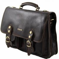 Портфель Tuscany Leather Modena Dark Brown