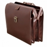 Портфель-саквояж Tuscany Leather Canova Brown