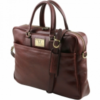 Портфель Tuscany Leather Urbino Dark Brown