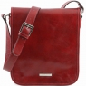 Сумка через плечо Tuscany Leather TL Messenger Red Маленькая