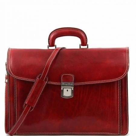 Портфель Tuscany Leather Amalfi Red
