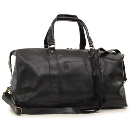 Дорожная сумка Ashwood Leather Harold 2070 black