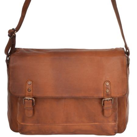 Деловая сумка Ashwood Leather 1336 tan