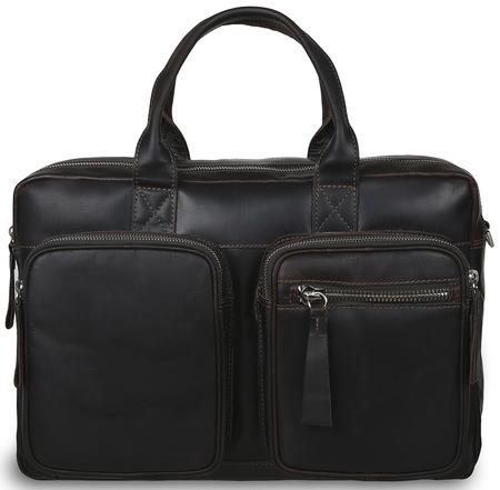 Деловая сумка Ashwood Leather 1662 brown