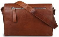 Деловая сумка через плечо Ashwood Leather 1664 chestnut