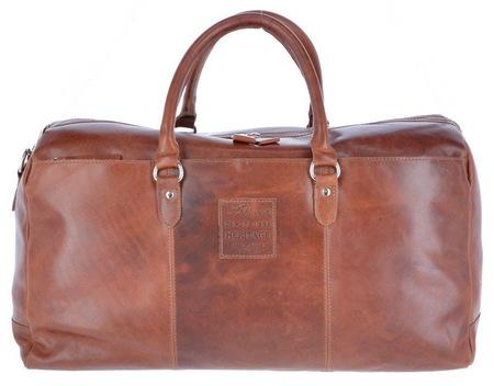 Дорожная сумка Ashwood Leather 1666 chestnut
