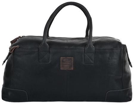 Дорожная сумка Ashwood Leather 4556 black