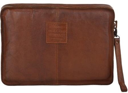 Кожаная папка Ashwood Leather 7992 rust