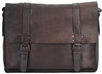 Кожаная сумка Ashwood Leather 7996 brown