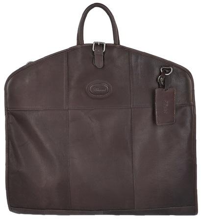 Кожаный портплед Ashwood Leather 8145 brown