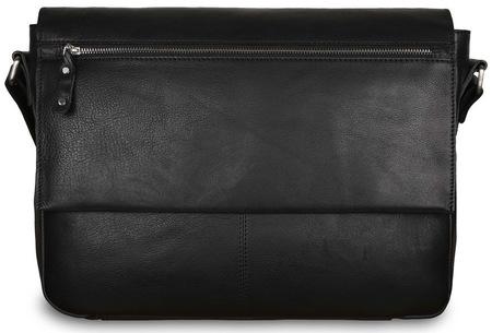 Кожаная сумка Ashwood Leather Baker black