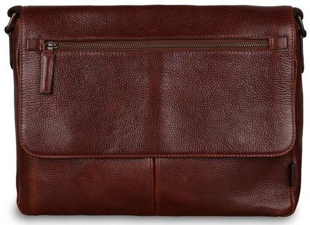 Кожаная сумка Ashwood Leather Blake chestnut brown