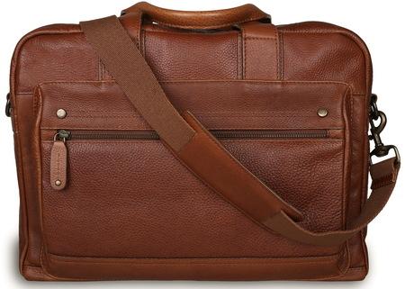 Деловая сумка Ashwood Leather Brady honey