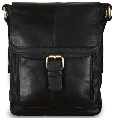 Сумка через плечо Ashwood Leather G-31 black