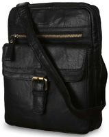 Сумка через плечо Ashwood Leather G-33 black