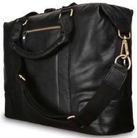 Деловая сумка Ashwood Leather G-34 black