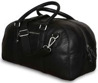 Дорожная сумка Ashwood Leather Hamilton black