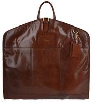 Кожаный портплед Ashwood Leather Harper chestnut brown