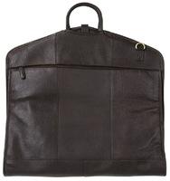 Кожаный портплед Ashwood Leather Harper dark brown