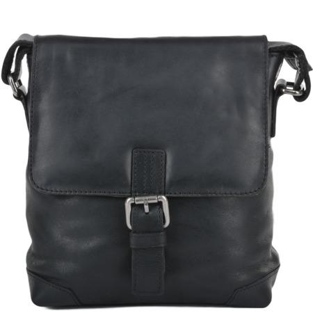 Сумка через плечо Ashwood Leather Jack black