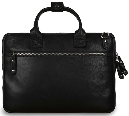 Кожаная сумка Ashwood Leather Jessy black