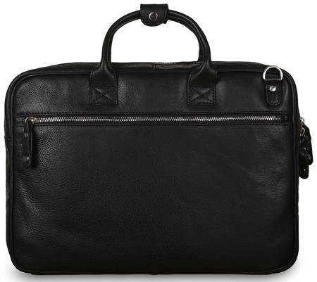 Кожаная сумка Ashwood Leather Lloyd black
