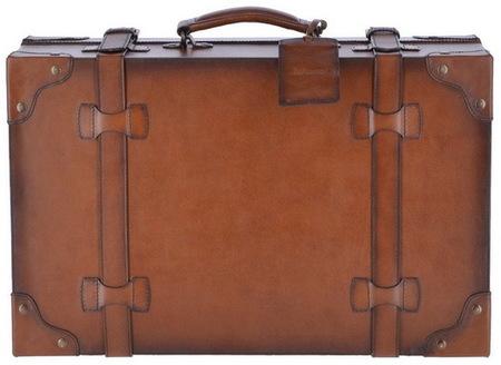 Ретро чемодан кожаный  Ashwood Leather Morgan tan