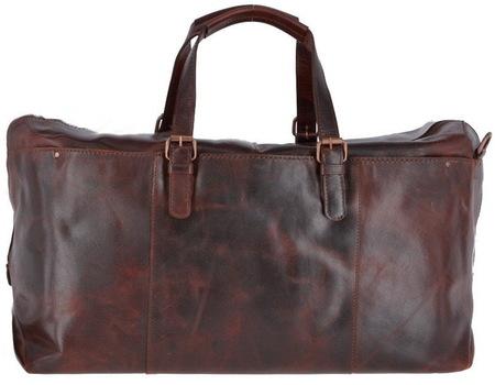 Дорожная сумка Ashwood Leather Oliver vintage tan
