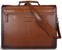 Кожаный портфель Ashwood Leather Orlando tan