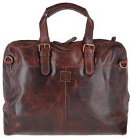Деловая сумка Ashwood Leather Ralph vintage tan