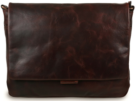 Деловая сумка через плечо Ashwood Leather Robin vintage tan