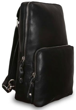 Рюкзак Ashwood Leather Slingo black
