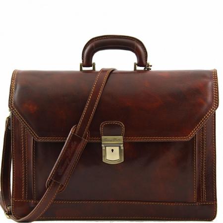 Портфель Tuscany Leather Roma Brown