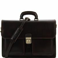 Портфель Tuscany Leather Assisi Dark Brown