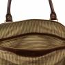 Дорожная кожаная сумка Tuscany Leather TL Voyager Honey Большая