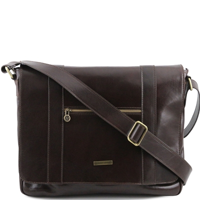 Деловая сумка Tuscany Leather Dymamic Dark Brown