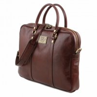 Портфель Tuscany Leather Prato Brown