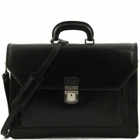 Портфель Tuscany Leather Roma Black