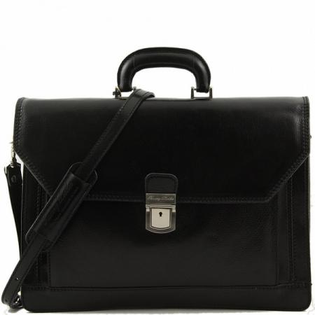Портфель Tuscany Leather Roma Black